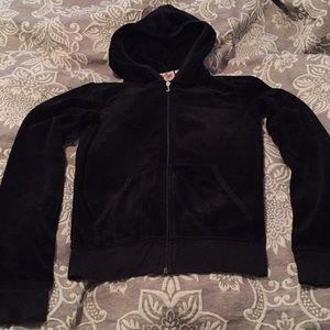 Juicy Couture velvet hoodie